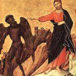 Воскреслий Ісус і зваблювання змія.