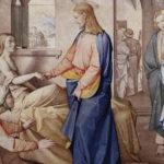 Марко 5, 35-43 (Воскресіння дочки Яіра)