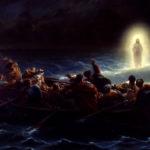 Ісус іде морем (Марка 6,45-52)