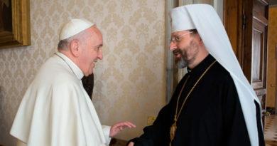 Папа Франциск запрошує перших осіб УГКЦ до опрацювання своєї стратегії щодо майбутнього України та української Церкви у світі