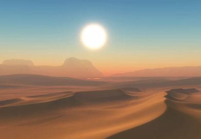 Бог будить нас у пустині